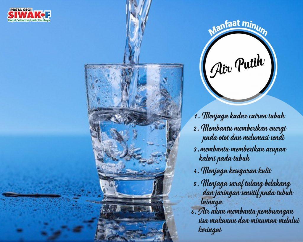 Manfaat Minum Air Putih Siwakf